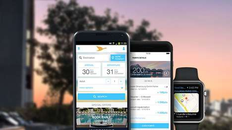 Convenient Hotel Apps - The Accor Hotels App Allows For Easy Access to Hotel Information