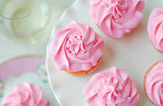 Wine-Infused Pink Cupcakes