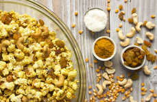 Curry Popcorn Mixtures