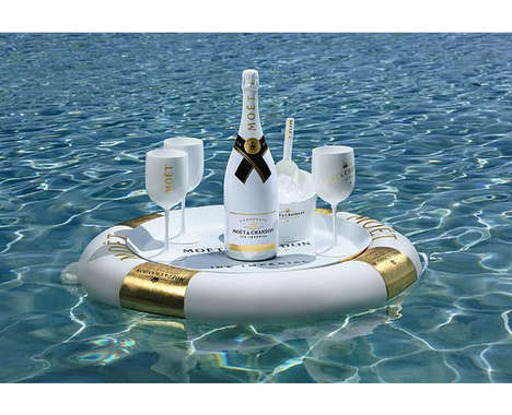 Floating Champagne Bars