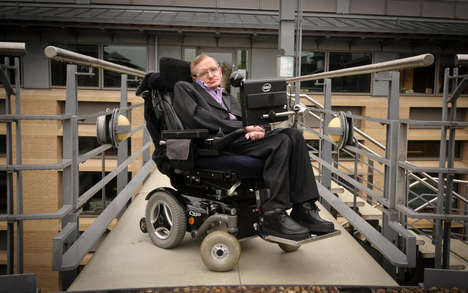 Wheelchair-Connected Speech Software - Stephen Hawking's Speech System is Now Free for Everyone