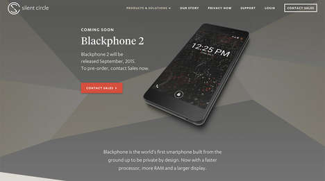 Privacy-Focused Smartphones - This Private Mobile Features Secure Apps and Encrypted Messaging