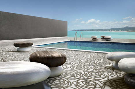 Stone-Inspired Seating - These Outdoor Chairs Use High Quality Material to Mimic Rock Formations