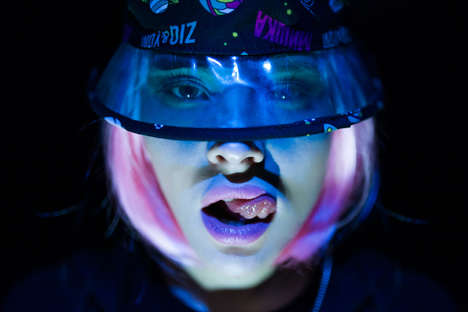 Neon Galactic Lookbooks - The ZIQ & YONI x Mishka Summer Lookbook is Out of This World