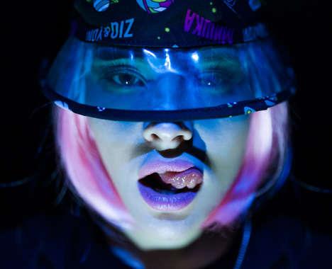 Neon Galactic Lookbooks