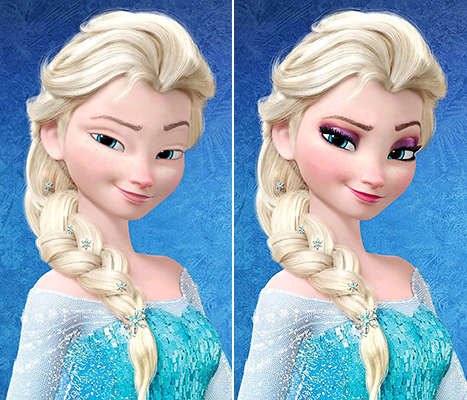 37 Disney Awareness Campaigns - From Anorexia Awareness Ads to Make-Up Free Disney Princesses