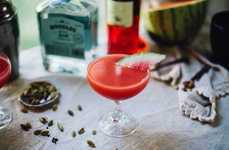 Watermelon Gin Cocktails - This Delicious Summer Cocktail Contains Cardamom and Campari Too