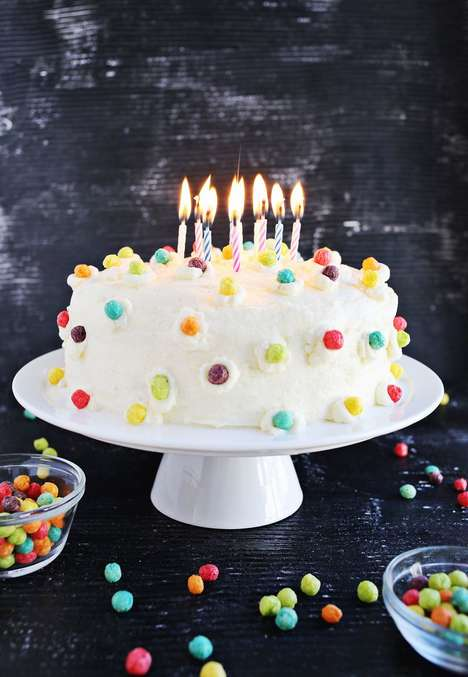 23 Children's Party Snacks - From Breaded Birthday Cakes to Edible Sprinkle Bowls