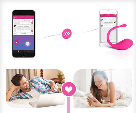 Smartphone-Connected Adult Toys - The Blush Vibe is an App-Assisted Smart Vibrator