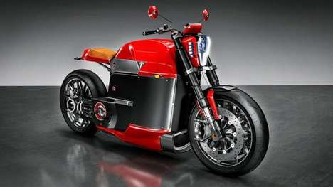 High-End Electric Motorcycles - Jans Shaplin Creates a Concept For a Tesla Motorbike