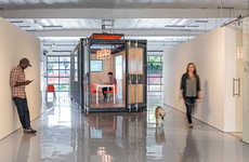 Shipping Container Offices - 'The Kennel' Provides Offices for Startups That Lack Space
