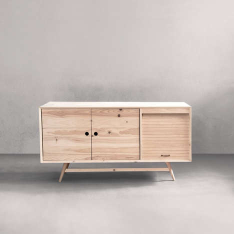 Conscientious Wooden Furniture - 'Ventura' Expressly Creates Environmentally Aware Furniture