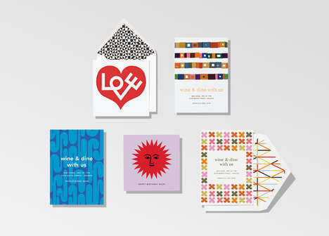Nostalgic Online Greeting Cards - Paperless Post is Bringing Alexander Girard to Today's Era
