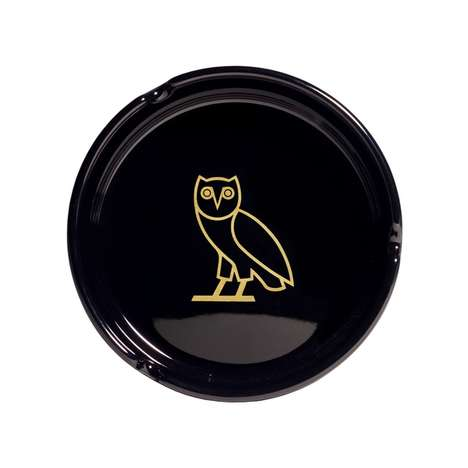 Rapper-Approved Ashtrays - The OVO Ashtray Boasts Drake's Signature Owl Insignia