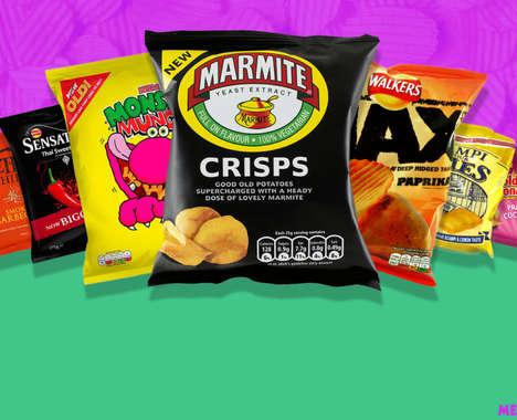 Bizarre Retro Chip Flavors