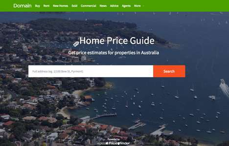 Property Value-Estimating Apps - This Tool Allows Users to Find Out the Value of Australian Homes