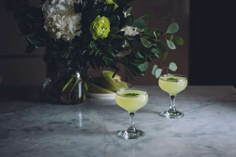 Refreshing Summer Cocktails - This Honeydew Cucumber Gin Bevvie is a Delicious Seasonal Cocktail
