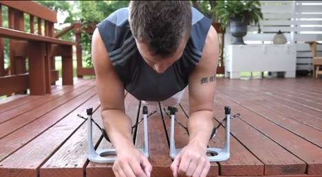 Twofold Exercise Machines - The 'Plankit' Lets You Have Versatile Home Workouts