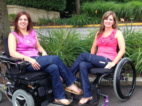 Inlusive Disability Jeans - 'Alter Ur Ego' Makes Adaptable Jeans for Women in Wheelchairs