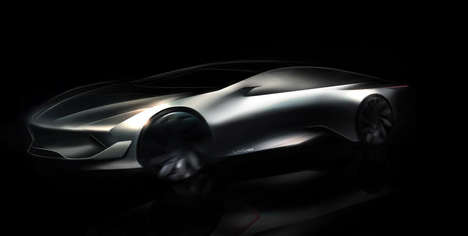 Futuristic Electric Supercars - This Concept Vehicle Could Become China's First Eco-Friendly Car