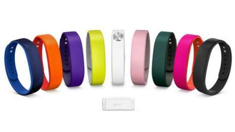Stress-Tracking Wristbands - The Sony SmartBand Helps Monitor How Strained You Feel Each Day