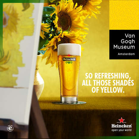 Artistic Beer Sponsorships - This Museum Opening Celebrates the Dutch Roots of Van Gogh and Heineken