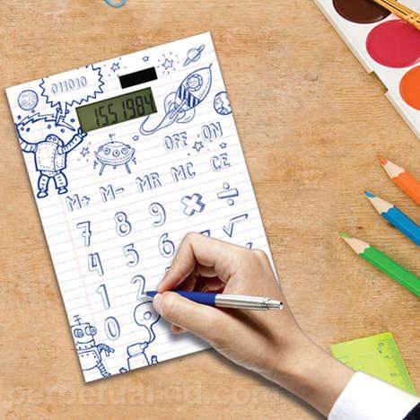 Sketchpad Calculators - Perpetual Kid's DIY Calculator Supports Arts and Mathematics