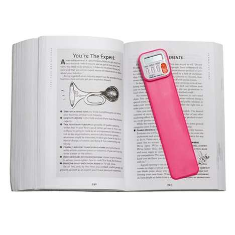 Reader-Tracking Bookmarks - This Digital Bookmark Tracks the Time a Child Spends Reading