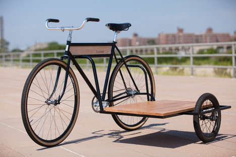 Sophisticated Sidecar Bicycles - This Sidecar Bike is Perfect for Cruising Down the Boardwalk