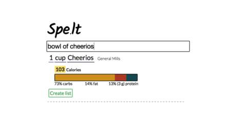 Simplistic Nutrition Calculators - This Tool Identifies the Nutritional Content of Different Dishes