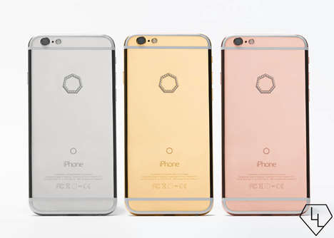 50 Delicate Rose Gold Items - From Diamond-Studded Smartphones to Fashionable Fitness Trackers