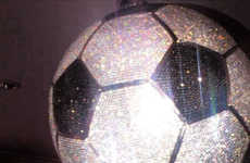 Diamond-Studded Soccer Balls
