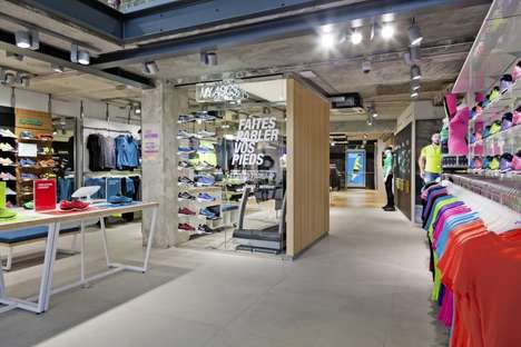 Sports Lab Interactive Retail - The New ASICS Flagship in Paris Offer High-Tech Customization