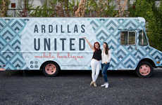 Food Truck Fashion Boutiques - The Ardillas United Brand Converted a Doritos Truck to a Mobile Shop