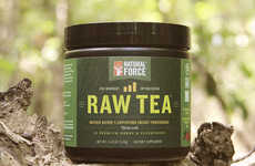Pre-Workout Raw Teas - This All-Natural Tea Beverage is Designed to Give You an Energy Boost