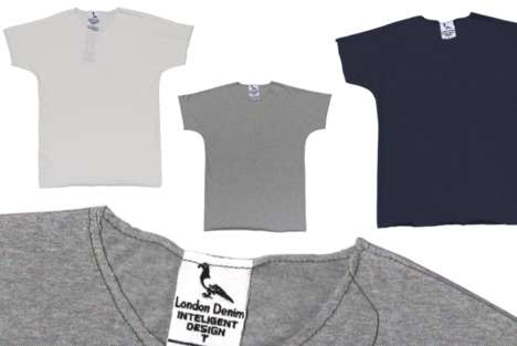 Single-Stitched Tees - This Company Specializes in Making Low-Impact Clothing