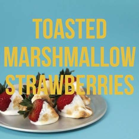 Toasted Marshmallow Strawberries - This Delightful Dessert Is a Fresh Take On Chocolate Strawberries