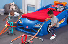 Interactive Race Car Beds