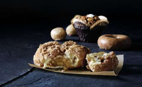 Pie-Inspired Donuts - These Seasonal Confections Include Popular Fall Flavors