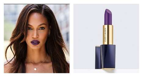 Top Model Lipstick Collections - The Joan Smalls Lipstick Line for Estee Lauder Includes 12 Shades