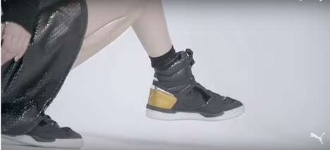 Futuristic Footwear Films - McQ x Puma Unveiled a F/W Collection with an Artful Video Lookbook