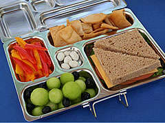 Sectional Lunchbox Trays - The PlanetBox Lunch Kit Helps Kids Create Personalized Meal Storage