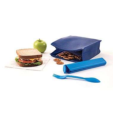 All-In-One Lunch Bags - This Clever School Lunch Bag Has a Compartment for Utensils