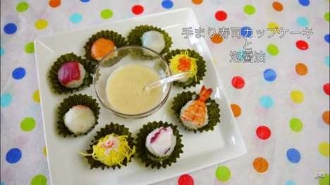 Cupcake-Inspired Sushi - 'Cupcake Sushi' is the Latest Innovation in Japanese Cuisine
