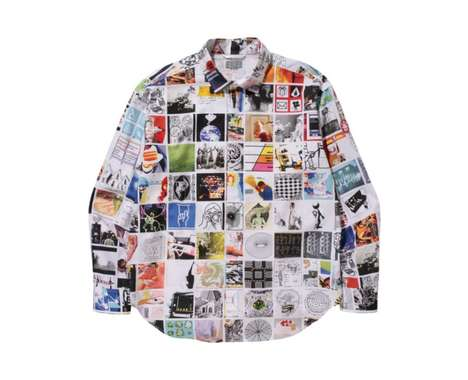 Artistic Collage Shirts