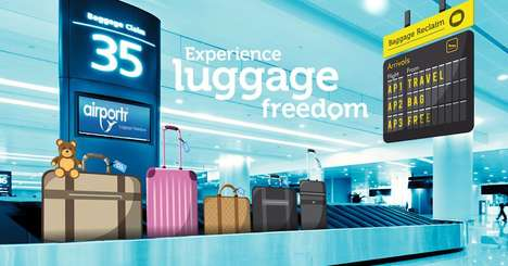 Luggage Collection Services - This Service Will Collect a Customer's Airport Luggage for Them