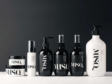 Sport Luxe Skincare Brands - MUSQ Natural Cosmetics is a Skincare Line Boasting Timeless Design