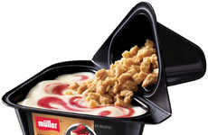 Hybrid Dessert Yogurt - Muller's Yogurt Dessert Channels the Taste of Indulgent Treats