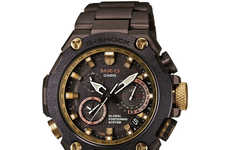 Luxe Shock-Resistant Watches - The Revamped Mr-G Limited Edition G-Shock Costs $6,000