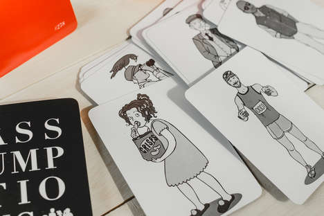Hilarious Illustration-Matching Games - The Assumptions Card Game Aligns Pictures to Funny Phrases